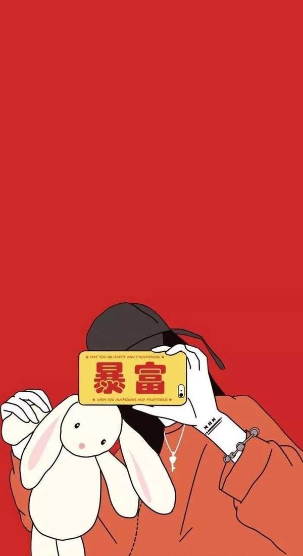 2019发财暴富手机壁纸