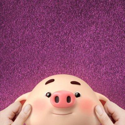 2019猪年卡通可爱头像
