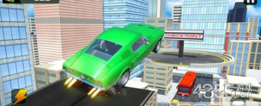 疯狂汽车空中驾驶