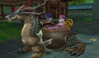 雙人坐騎的仙俠手游