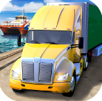 渡轮港口卡车停车模拟