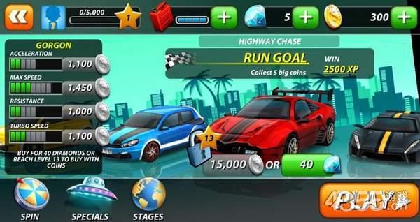 奔跑3D赛车