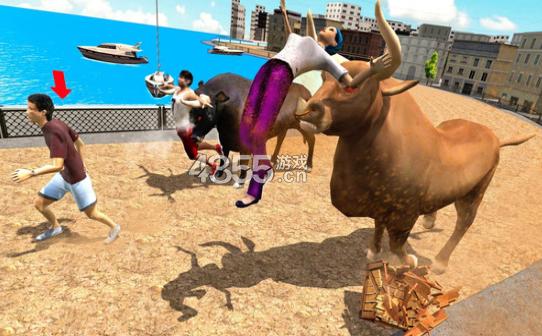 公牛狩猎模拟器