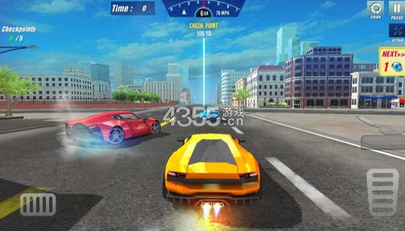 极限超车模拟器