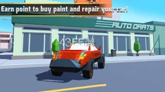 汽车艺术绘画飞溅