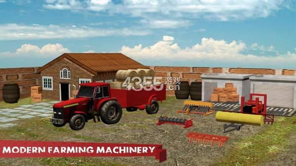 农业拖拉机模拟