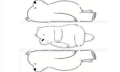 朋友圈小熊表情包