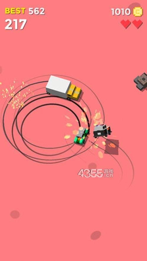 碰撞追逐车3D苹果版