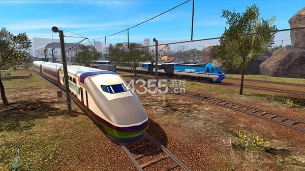 火车赛车模拟器