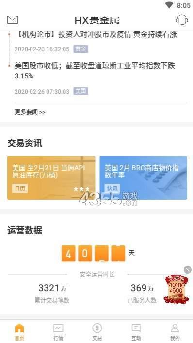 HX貴金屬app