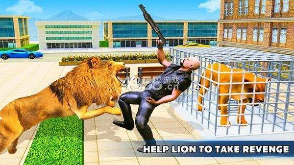 憤怒的獅子模擬