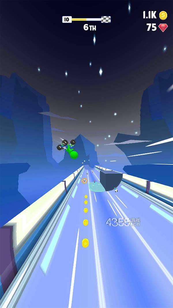 橡皮人涡轮赛车