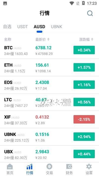 UBIEX交易所app