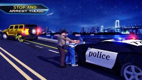 警官公路追逐
