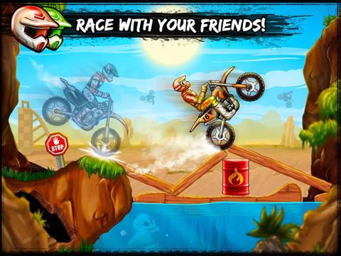 摩托竞速赛