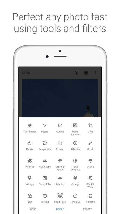 Snapseed手机修图软件中文版